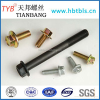 DIN6921 Hexagon flange bolt of High quality (Direct Manufacturer)