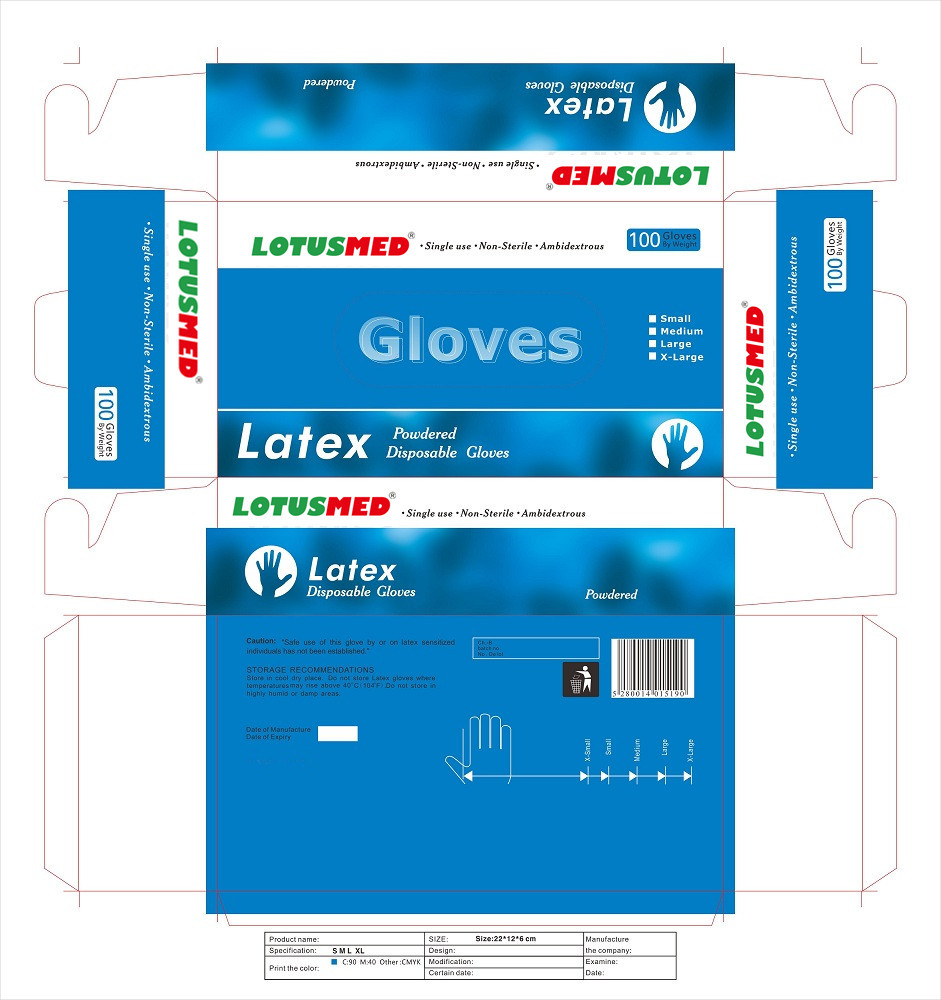 Medical Materials High Quality Nitrile Examination Gloves