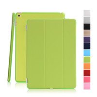 New Arrival Colorful Smart Magnetic Soft PU Leather Flip Cover Case for iPad mini 4