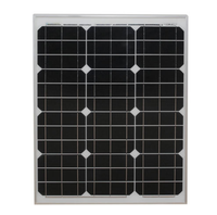 12v battery mono solar cell 40w with low price