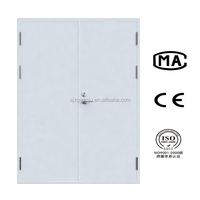 Double Leaf Steel fire rated door made in china