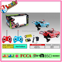 Remote control electric dancing crazy taxi car toy