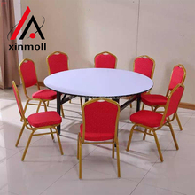 Modern design pvc folding dinner table and chair for sale
