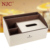 High-quality white and brown leather multifunctional tissue box NIC016-PA13, hotel amenity, hotel supply