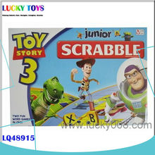 New Products! scrabble tiles letter intelligent scrabble game gift for kids for sale