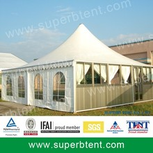 Aluminum big pvc 20 ft x 40 ft pagoda party tent for sale