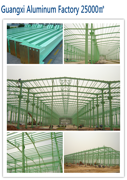 Decoration Meterial for SBS Prefabricated Steel Structure Garage Building