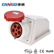 IP67 3P 4P 5P 63A Extension Interlocked Industrial Plug And Socket