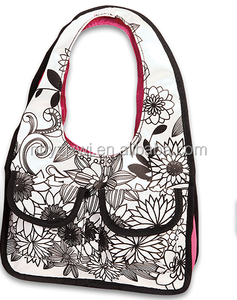 KIDS DIY BAG FOR PROMOTION SATIN material WITH PEN
