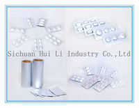 Composite aluminum foils for medicinal and cosmetci and food packaging
