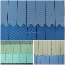 stripe anti static silk fabric