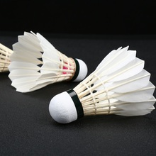 LINGMEI Brand PINK Model Goose feather badminton shuttlecock, class a badminton feather shuttlecock