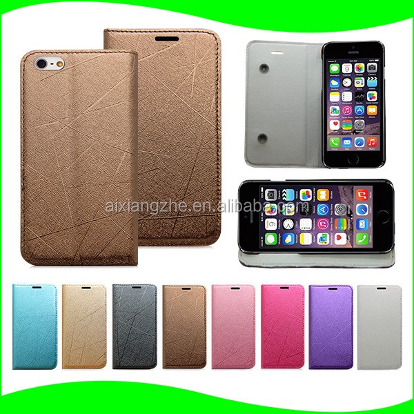 Luxury Cell Phone Accessories Leather Flip Cover Case For zte blade x3 Back Cover for zte 818