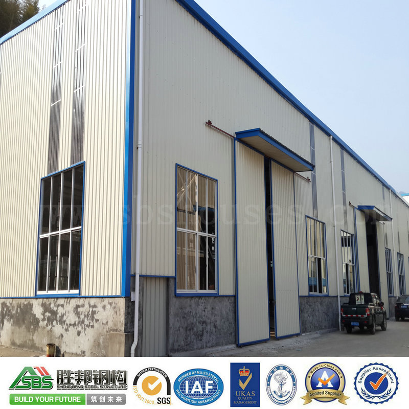Aluminium Alloy Window for Professional Prefab Steel Structure Office Building