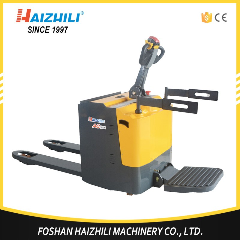 Machinery forklift battery small electric pallet truck with nice price