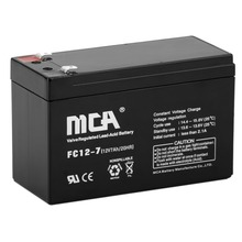 12V 7Ah 20hr battery lead acid rechargeable VRLA battery for UPS