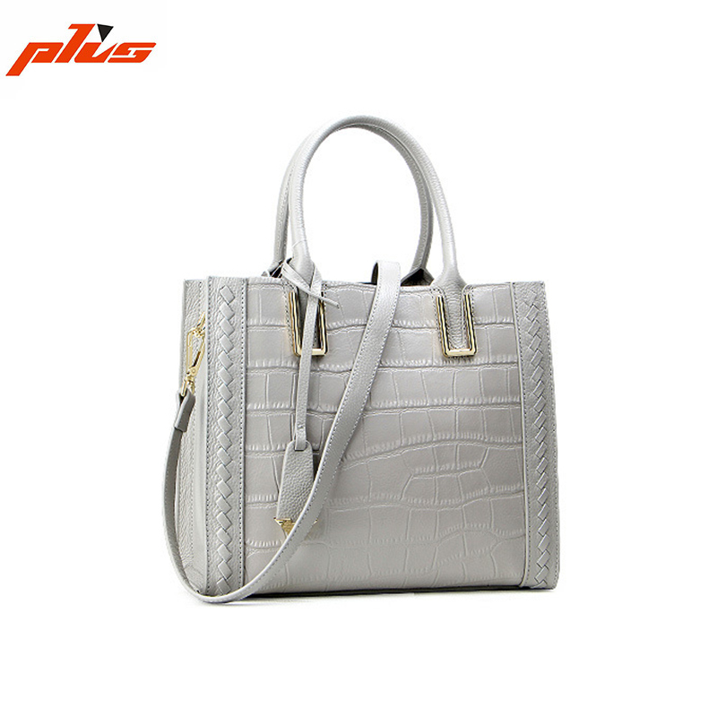 White Crocodile Skin Genuine Leather Women Bags Buy Handbag Direct from China