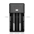 Efest BIO V2 fast multi-function charger with car charger for 18650/18350/18500 batteries