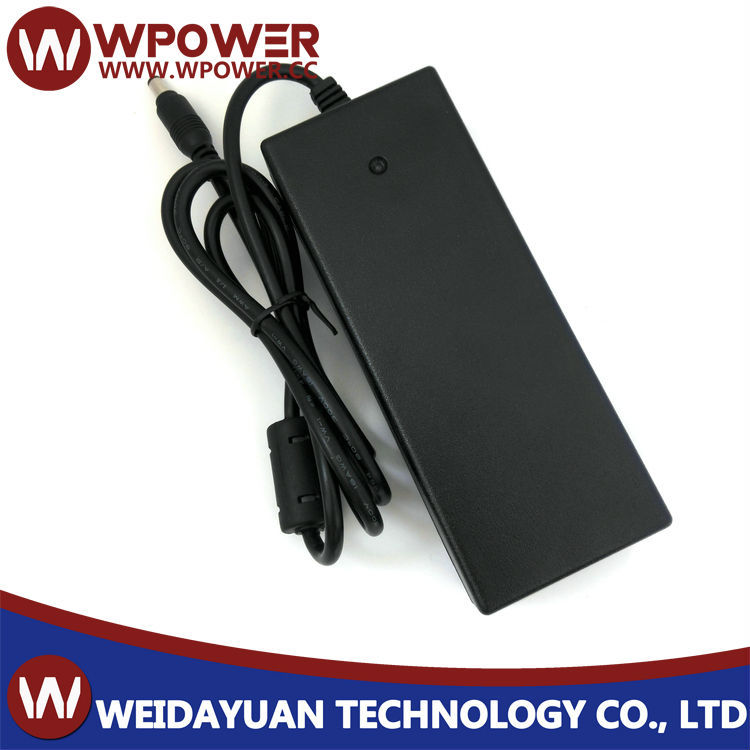 Desktop type 5V 7A power adaptor(right angle Barrel type 5.5x2.1mm DC connector C14 coupler)