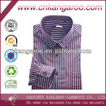 Trendy italy designer's striped easy care dress shirt
