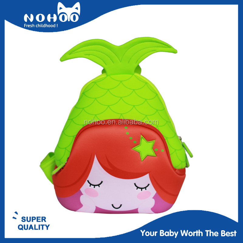nohoo factory have stock wholesale oem lightweight kids backpack