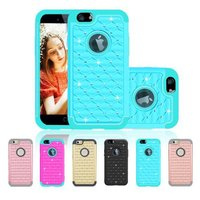 PC+TPU material back case for iphone5s mobile phone