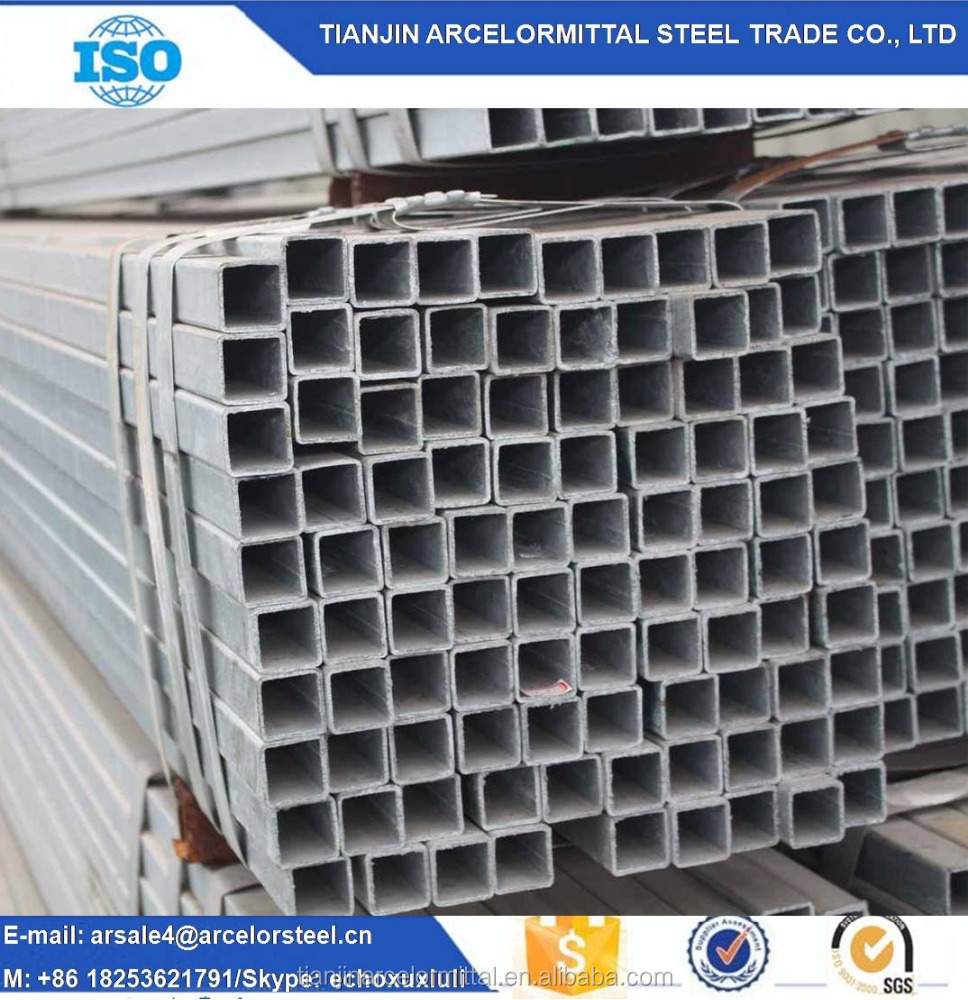 30*20*1.8mm 6m Z60 Factory Directly Supply Hot Dip Galvanized Round Steel Pipe and <strong>Tube</strong> For Construction Building Material