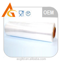 self-adhesive clear pe plastic film for packaging with high quality
