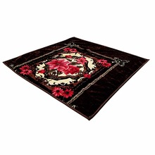 competitive price Korean style heat thermal raschel blanket