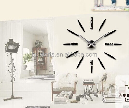 Exceptional Newest Different Types Of Wall Clocks Diy 3d Wall Clock Home Decor   Buy 3d Wall  Clock,Different Types Of Wall Clocks,Newest Different Types Of Wall Clocks  ...
