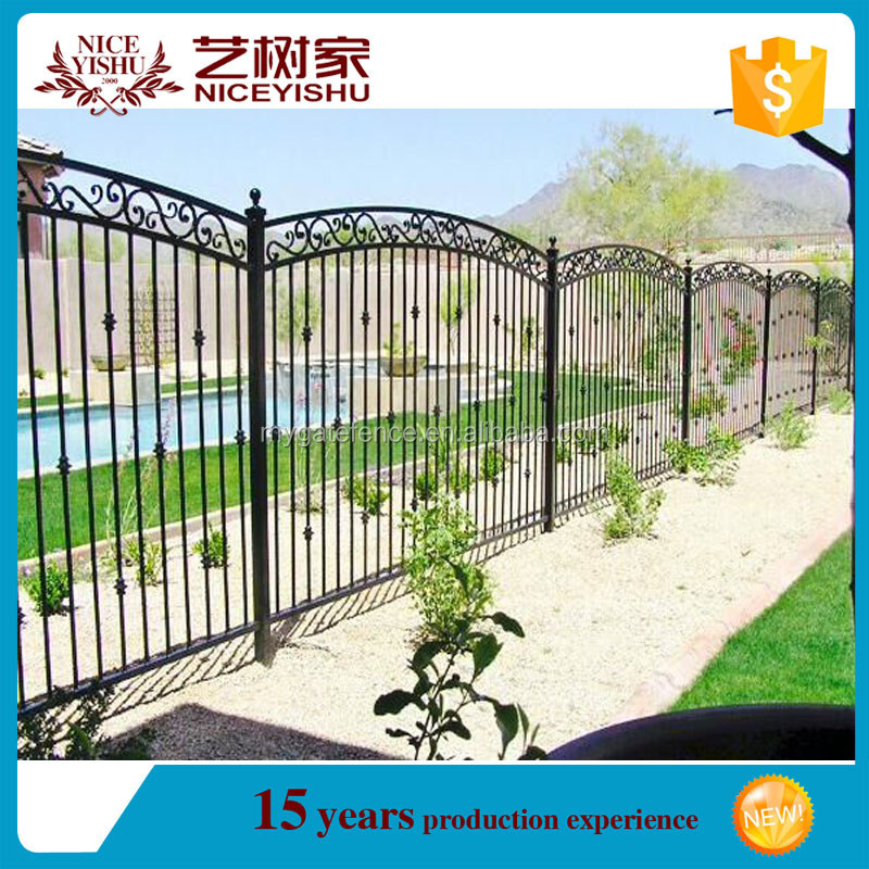Iron fence philippines cheap wrought panels for