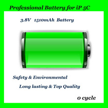 rechargeable battery high capacity battery for iPhone 5c replacement parts