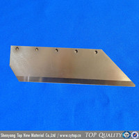 Textile industry high heat resistance cobalt based alloy cutting blade for carbon fiber