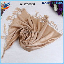 new design knitted jacquard rose 100% cashmere shawl