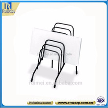 office wire table file racks file folder stand rack