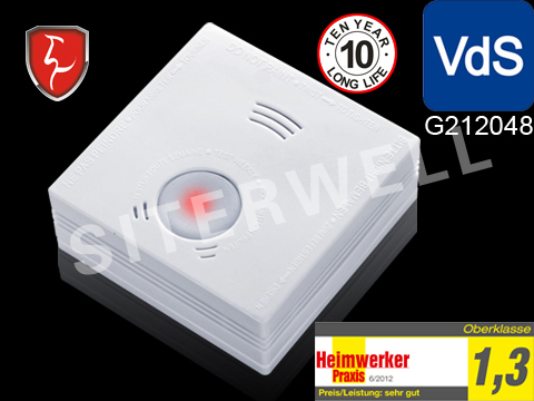 Hot sale ,VDS,LPCB,BOSEC smoke alarm system GS505