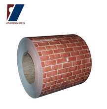 Wear Resistant brick grain color coated steel coil/ppgi steel coil