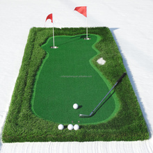 Golf with portable China supplier golf equipment putting green mat golf practice mat