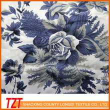 2015 Keqiao 40S*40S Shrink-Resistant Cotton Poplin Printing Elastic Textiles