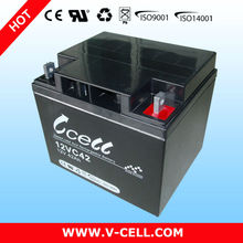 12V 42Ah photovoltaic battery storage