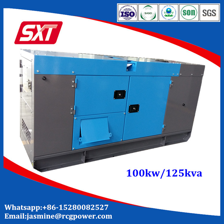 OEM factory 100 kw generator price with stamford alternator