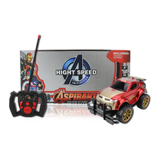 Light Remote Control High Speed Car 4 Channel 1:15 SUV Off-road Vehicle R C Car Toy for Kids