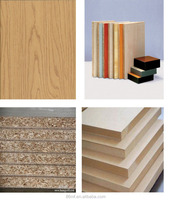 1220*2440mm different colors melamine particle board/mdf/plywood with FSC certificate