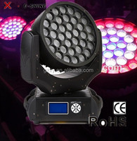 newest copy robin 600 37P*10W 4in1 zoom led mini moving head light for stage