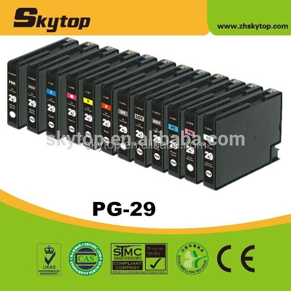 PGI-29 series, compatible Canon ink cartridge PGI-29 for canon PIXMA PRO-1 printer