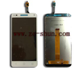 mobile phone lcd for Alcatel U5 3G 4047 complete White