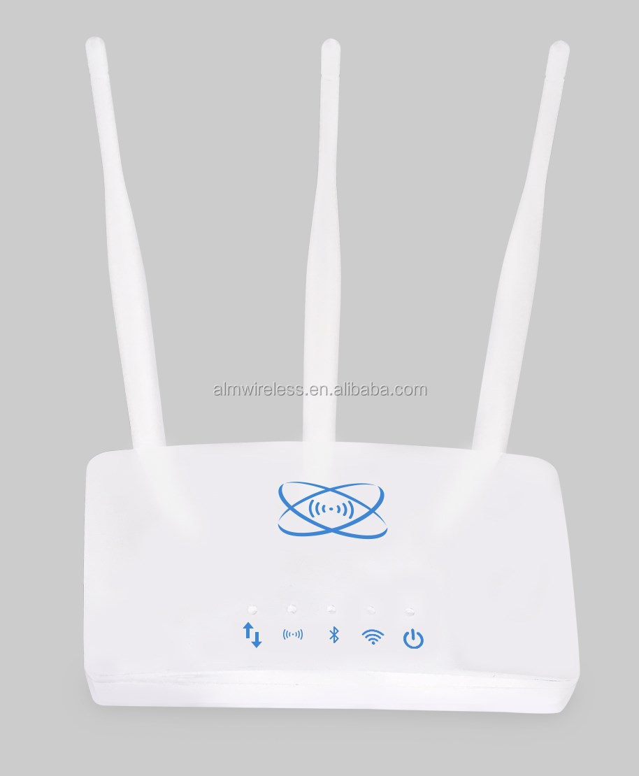 Asset tracker router wireless IoT gateway for two-way ibeacon receiver for home automation system android