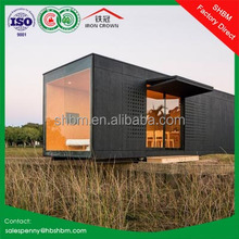 20ft folding two storey container house plans/ prefabricated luxury container house