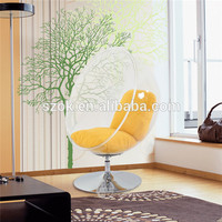 Modern design indoor transparent acrylic ghost chair with stand