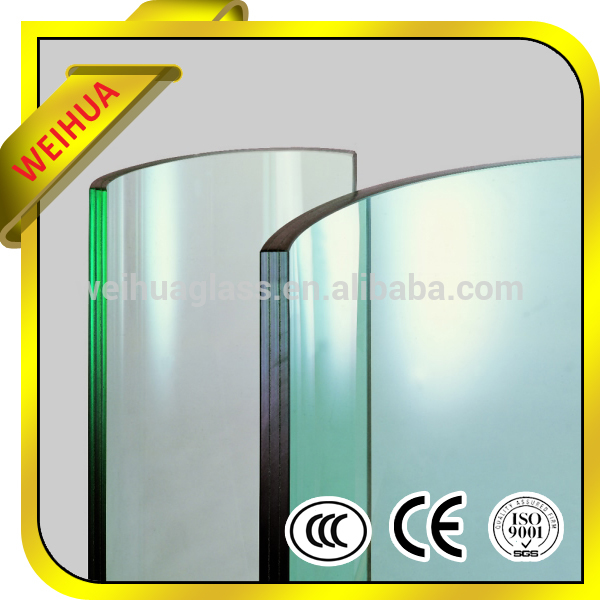 15mm curved tempered glass heat soak test, price tempered glass price